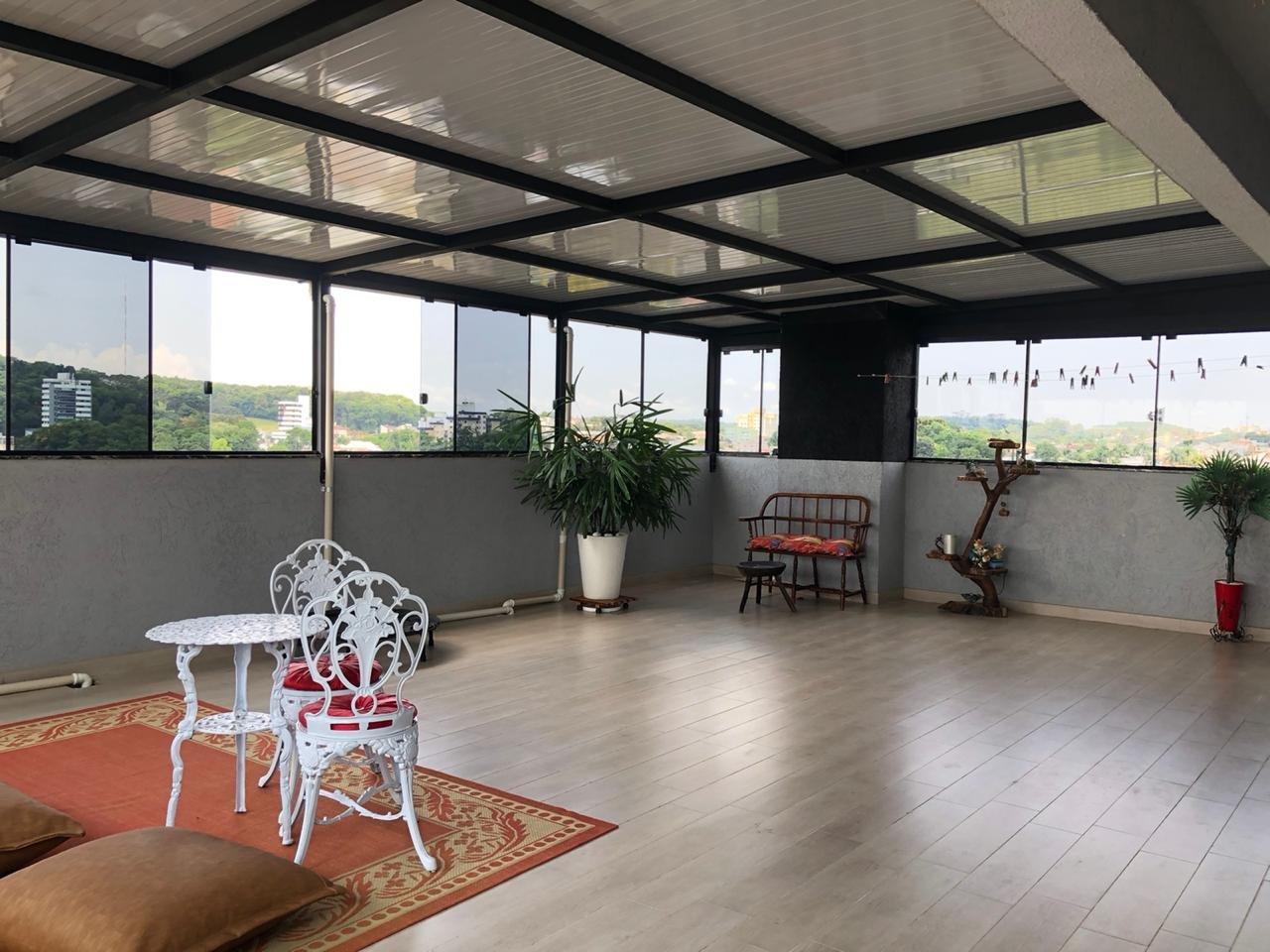 terraço para academia parte superior