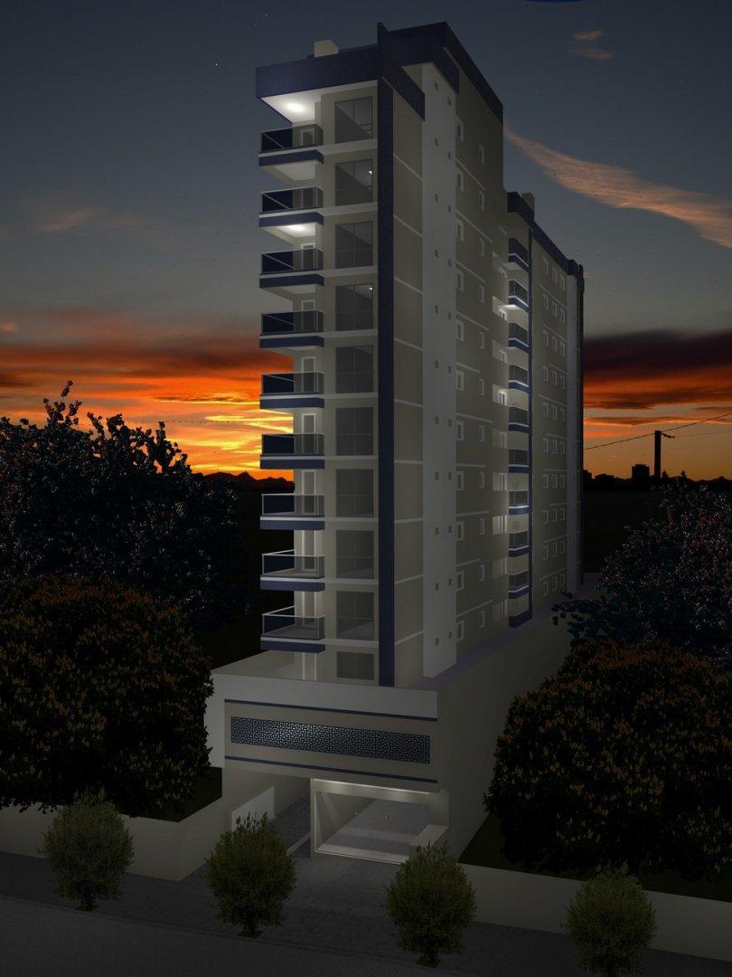 Fachada Edifício Duque 370 a noite